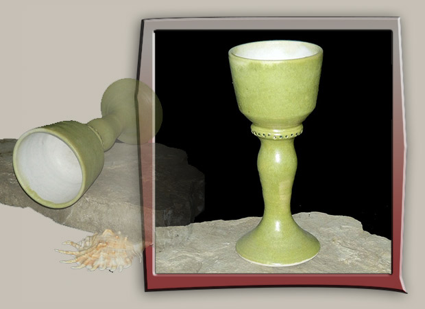 apple green chalice