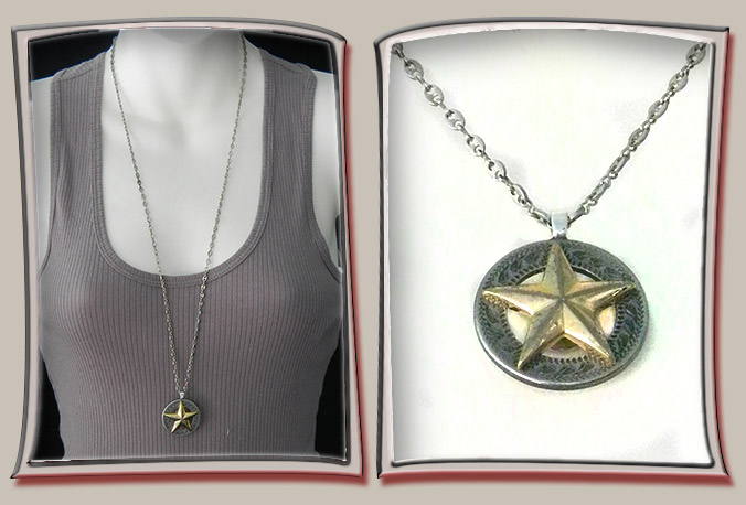 Patriotic Star Pendant